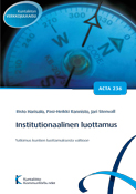 Institutionaalinen luottamus. Acta nro 236