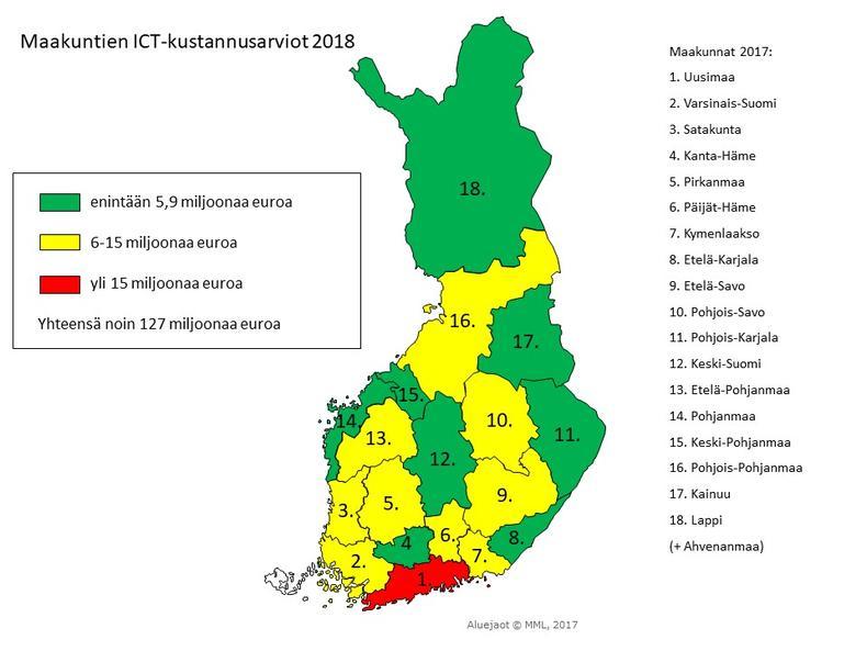 Suomi Alueet